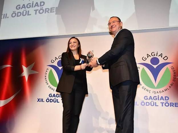 Yönetim Kurulu Başkanımız Sayın Nalan Kurt GAGİAD (Gaziantep Genç İş Adamları Derneği) Tarafından Kadın Girişimci Ödülüne Layık Görüldü