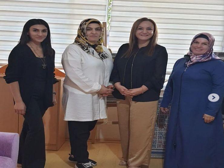 Mardin&39;de Kadınların El Emeği Ürünlerini Ürettikleri İstasyon Adem Genel Müdürü Sevgili Sevim Hanımla Görüştük