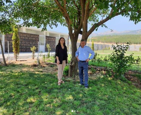 Nurdağı Ziraat Odası Başkanı Kemal Belpınar ile Kendi Yerinde Görüştük