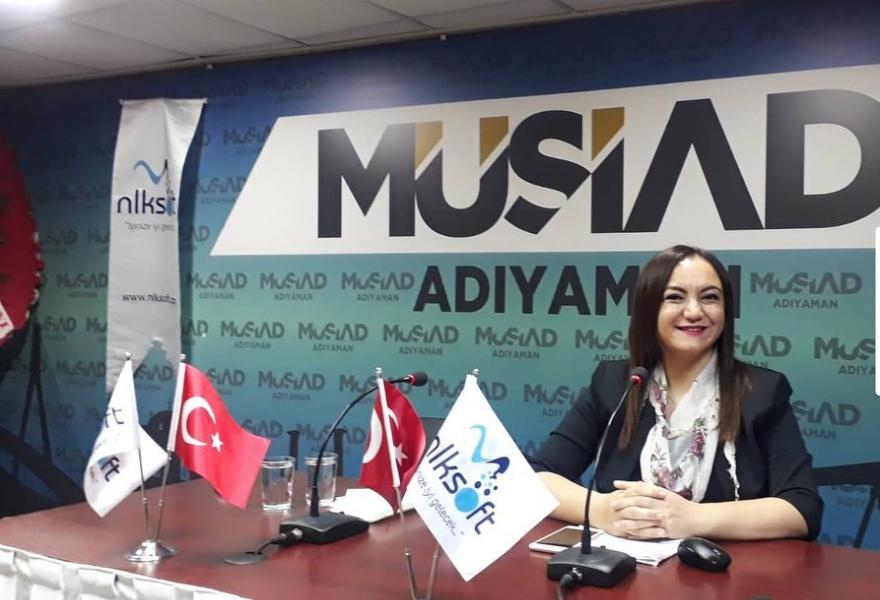 """Adıyaman MÜSİAD'da """"E-ticaret ve E-ihracat"""" eğitimi - Gaziantep Söz Haber"""