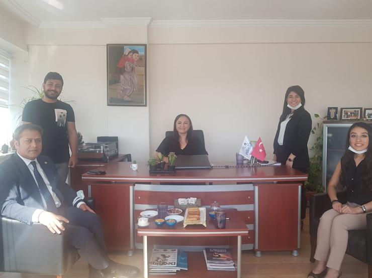 Gaziantep Milletvekili, TBMM İdare Amiri Sayın Ali Şahin nlksoft'u ziyaret etti.