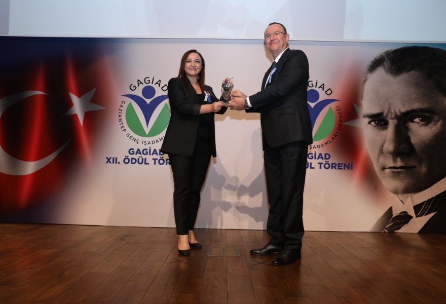 GAGİADın Yılın Kadın Girişimci Ödülü Nalan Kurta başlığıyla Gaziantep Söz gazetesinde yer aldık