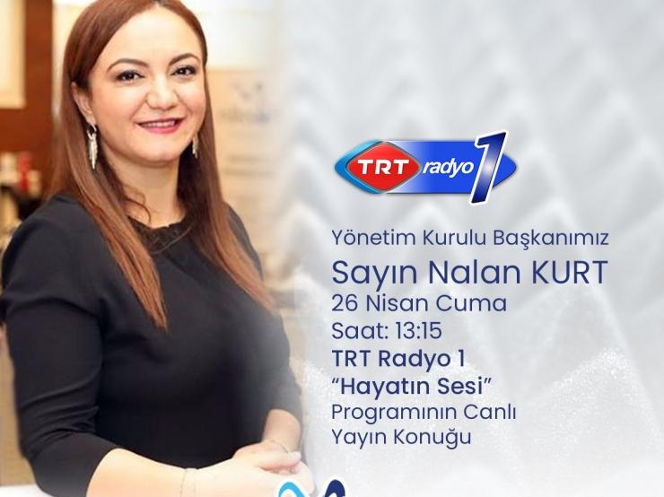 TRT Radyo 1 Hayatın Sesi Programına Konuk Olduk