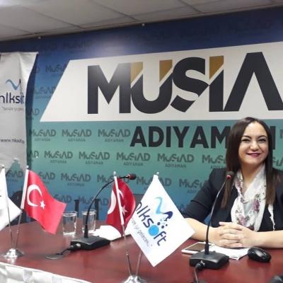 """MÜSİAD'da """"E-ticaret,E-ihracat ve Dijitalleşme"""" eğitimi gerçekleştirdik"""
