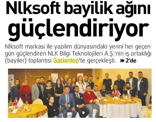 Nlksoft Bayiler Toplantısı Gaziantep te Yapıldı